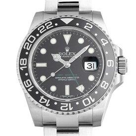 【48回払いまで無金利】ロレックス GMTマスターII 116710LN メンズ(0ILAROAS0003)【中古】【未使用】【腕時計】【送料無料】