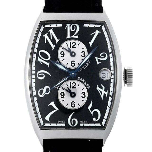 【48回払いまで無金利】フランクミュラー マスターバンカー 6850MB AC メンズ(007UFRAU0156)【中古】【腕時計】【送料無料】