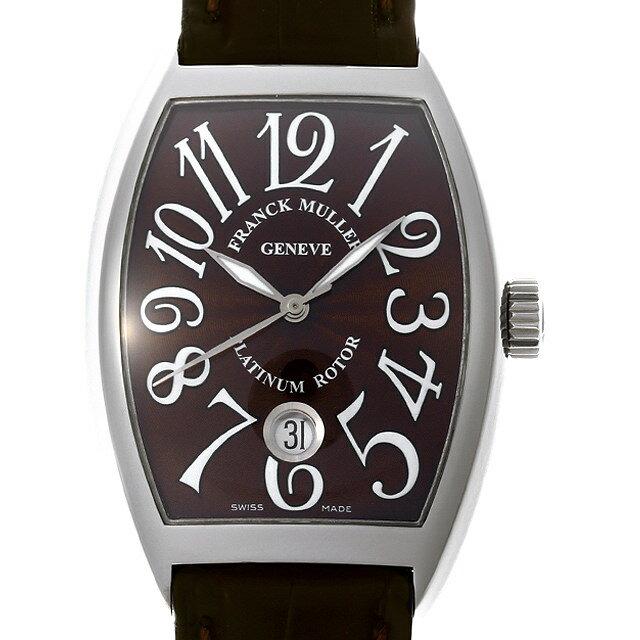 【48回払いまで無金利】フランクミュラー トノーカーベックス デイト 7880SC DT AC メンズ(007UFRAU0157)【中古】【腕時計】【送料無料】