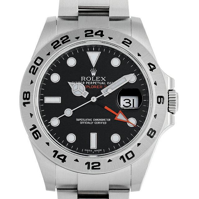 【48回払いまで無金利】ロレックス エクスプローラーII 216570 ブラック メンズ(0CCTROAN0101)【新品】【腕時計】【送料無料】【5000円オフクーポン配布中】