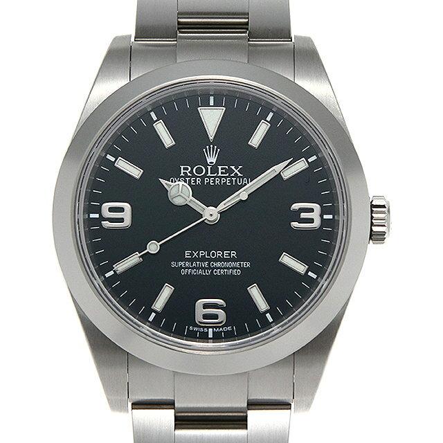 【48回払いまで無金利】ロレックス エクスプローラー 214270 ランダムシリアル メンズ(001HROAU0278)【中古】【腕時計】【送料無料】