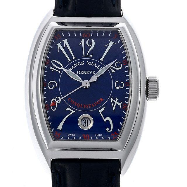 【48回払いまで無金利】フランクミュラー コンキスタドール 8005SC AC メンズ(007UFRAU0149)【中古】【腕時計】【送料無料】