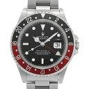 【48回払いまで無金利】ロレックス GMTマスターII 赤黒ベゼル 16710 X番 メンズ(007UROAU0557)【中古】【腕時計】【送…