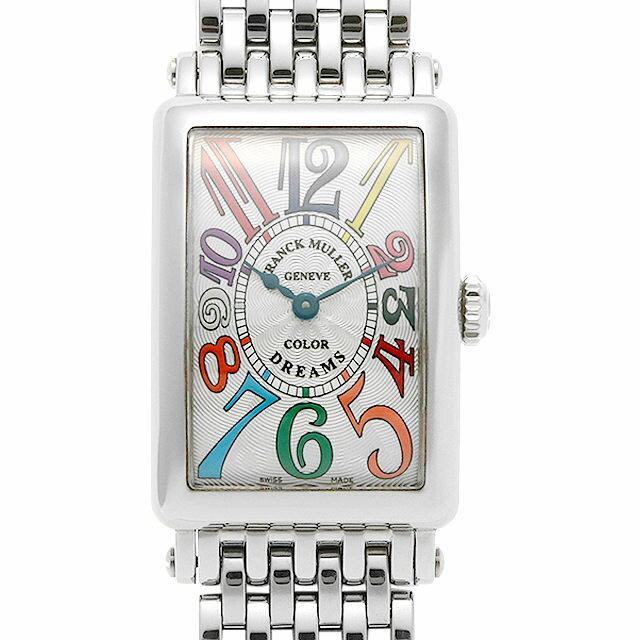 【48回払いまで無金利】フランクミュラー ロングアイランド カラードリームス 902QZ COLOR DREAMS OAC レディース(008WFRAU0103)【中古】【腕時計】【送料無料】