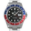 【48回払いまで無金利】ロレックス GMTマスターII 赤青ベゼル 16710 Z番 メンズ(03T4ROAU0001)【中古】【腕時計】【送…