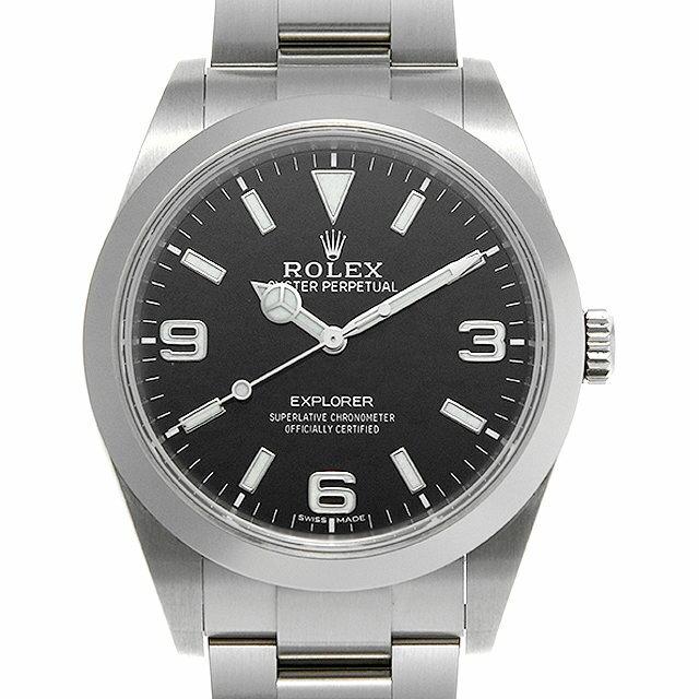 【48回払いまで無金利】ロレックス エクスプローラー 214270 最新型 メンズ(0MJQROAU0001)【中古】【腕時計】【送料無料】