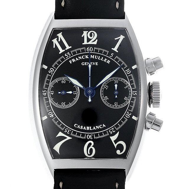 【48回払いまで無金利】フランクミュラー カサブランカ クロノグラフ 5850C CC AC メンズ(006TFRAU0011)【中古】【腕時計】【送料無料】