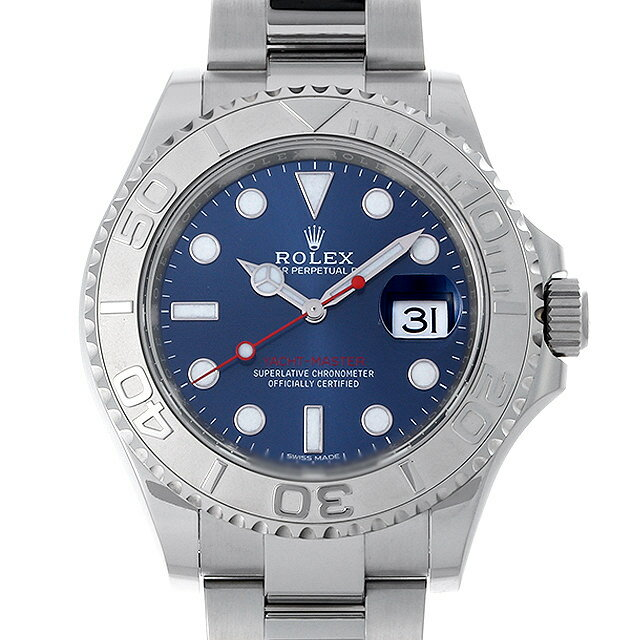 【48回払いまで無金利】ロレックス ヨットマスター ロレジウム 116622 ブルー メンズ(03DFROAU0001)【中古】【腕時計】【送料無料】