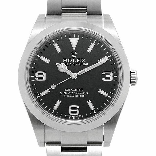 【48回払いまで無金利】ロレックス エクスプローラー 214270 最新型 メンズ(0HG8ROAU0001)【中古】【腕時計】【送料無料】