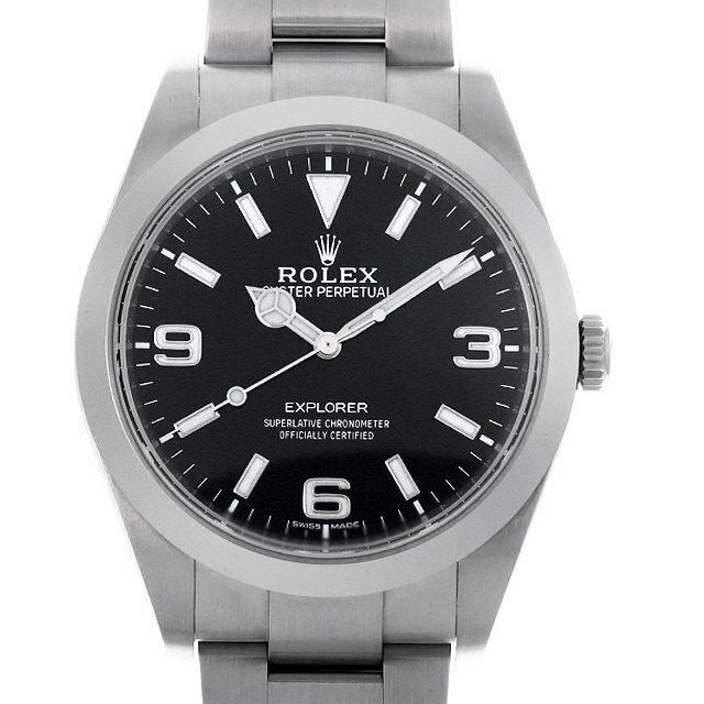 【48回払いまで無金利】ロレックス エクスプローラー 214270 最新型 メンズ(0KO1ROAU0002)【中古】【腕時計】【送料無料】