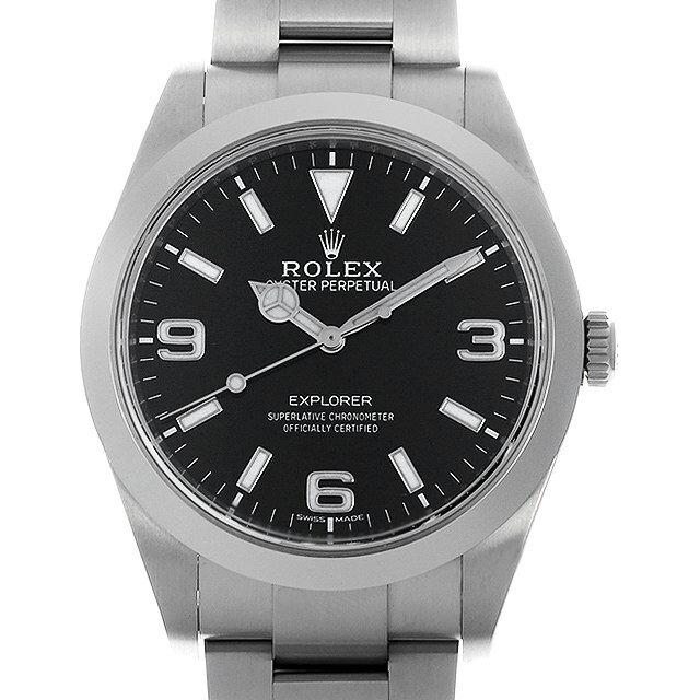 【48回払いまで無金利】ロレックス エクスプローラー 214270 最新型 メンズ(0MTRROAU0001)【中古】【腕時計】【送料無料】