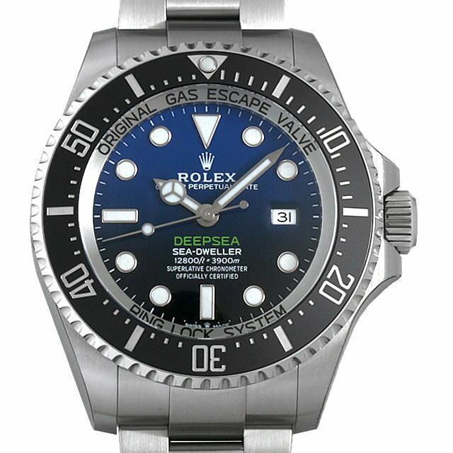 【48回払いまで無金利】ロレックス ディープシー D-BLUEダイアル 126660 メンズ(0BKAROAS0002)【中古】【未使用】【腕時計】【送料無料】