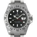 【48回払いまで無金利】ロレックス エクスプローラーII 16570 ブラック V番 メンズ(0087ROAU0157)【中古】【腕時計】…