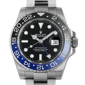 SALE 【48回払いまで無金利】ロレックス GMTマスターII 116710BLNR メンズ(03PHROAU0001)【中古】【腕時計】【送料無料】