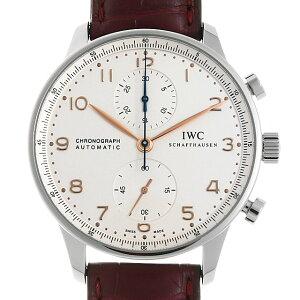 【48回払いまで無金利】IWC ポルトギーゼ クロノグラフ IW371445 メンズ(0DF7IWAS0001)【中古】【未使用】【腕時計】【送料無料】