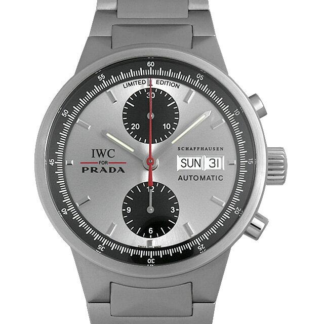 【48回払いまで無金利】IWC GSTクロノグラフ プラダ 世界限定2000本 IW370802 メンズ(0NW1IWAU0001)【中古】【腕時計】【送料無料】
