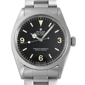 【48回払いまで無金利】ロレックス エクスプローラーI 1016 Cal.1570 61番 メンズ(007UROAA0131)【アンティーク】【腕時計】【送料無料】