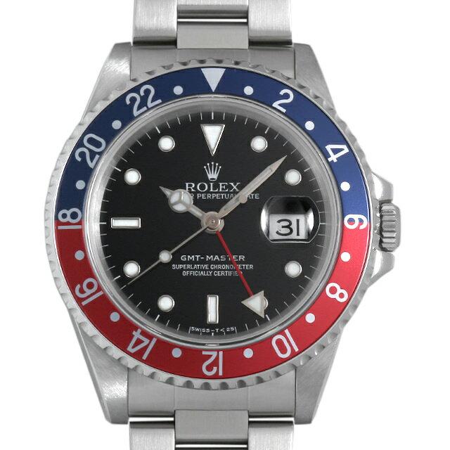 【48回払いまで無金利】ロレックス GMTマスター 赤青ベゼル 16700 U番 メンズ(0NMYROAU0001)【中古】【腕時計】【送料無料】