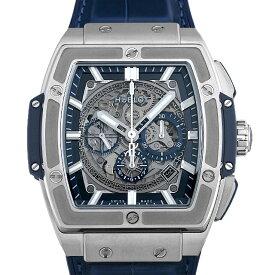 【48回払いまで無金利】ウブロ スピリット オブ ビッグバン チタニウム ブルー 601.NX.7170.LR メンズ(002GHBAN0264)【新品】【腕時計】【送料無料】