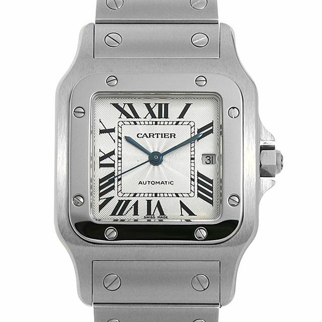 【48回払いまで無金利】カルティエ サントス ガルベ LM W20055D6 メンズ(006TCAAU0018)【中古】【腕時計】【送料無料】