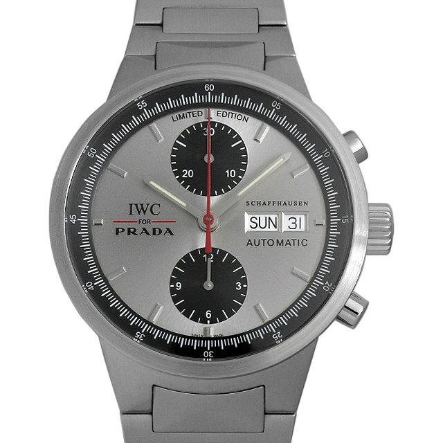 【48回払いまで無金利】IWC GSTクロノグラフ プラダ 世界限定2000本 IW370802 メンズ(0P03IWAU0001)【中古】【腕時計】【送料無料】