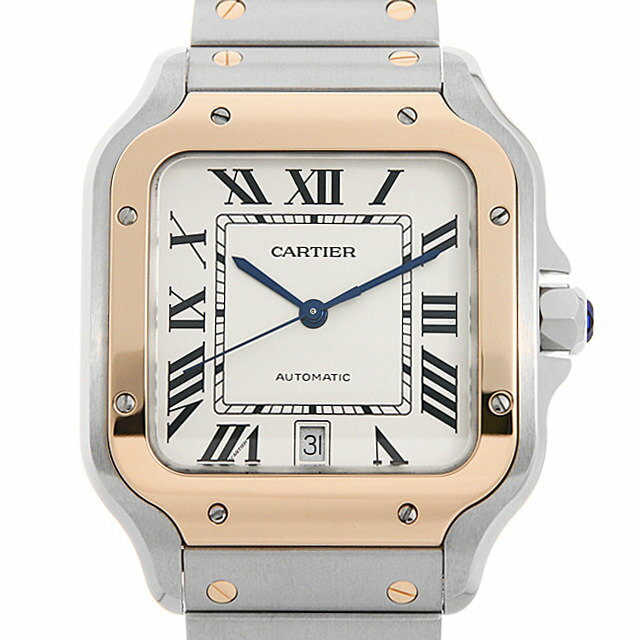 【48回払いまで無金利】カルティエ サントス ドゥ カルティエ LM W2SA0006 メンズ(007UCAAS0005)【未使用】【腕時計】【送料無料】