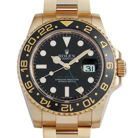 【48回払いまで無金利】ロレックス GMTマスターII 116718LN ブラック G番 メンズ(007UROAU0804)【中古】【腕時計】【送料無料】