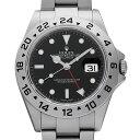 【48回払いまで無金利】ロレックス エクスプローラーII 16570 ブラック Z番 メンズ(0COSROAU0002)【中古】【腕時計】…