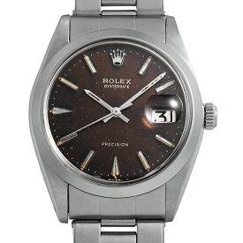 【48回払いまで無金利】ロレックス オイスターデイト プレシジョン 6694 トロピカル/ブラックミラー メンズ(0NZ9ROAA0001)【アンティーク】【腕時計】【送料無料】