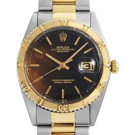 【48回払いまで無金利】ロレックス デイトジャスト サンダーバード 1625 トロピカル/ブラックミラー 14番 メンズ(0BCCROAA0038)【アンティーク】【腕時計】【送料無料】