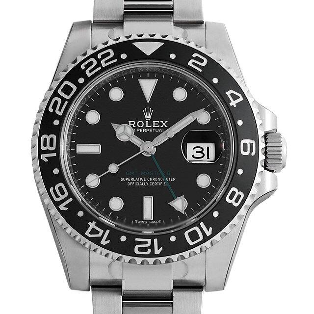 ロレックス GMTマスターII 116710LN メンズ(006XROAN0085)【新品】【腕時計】【送料無料】