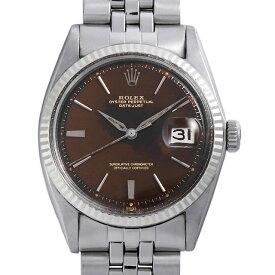【48回払いまで無金利】ロレックス デイトジャスト 1601 トロピカルダイアル ブラウンミラー 93番 メンズ(0BCCROAA0036)【アンティーク】【腕時計】【送料無料】