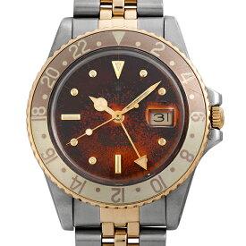 【48回払いまで無金利】ロレックス GMTマスター 16753 ブラウントロピカル/フジツボ 94番 メンズ(0DTPROAU0001)【中古】【腕時計】【送料無料】