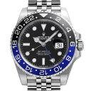 【48回払いまで無金利】ロレックス GMTマスターII 126710BLNR メンズ(0FWNROAS0021)【中古】【未使用】【腕時計】【送…