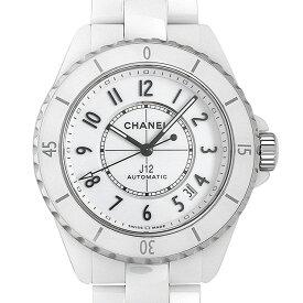 【48回払いまで無金利】シャネル J12 白セラミック キャリバー12.1 H5700 メンズ(015PCHAN0100)【新品】【腕時計】【送料無料】