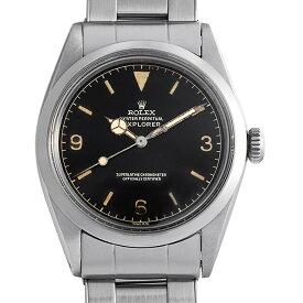 【48回払いまで無金利】ロレックス エクスプローラーI 1016 6ドット/トロピカル/ブラックミラーダイアル メンズ(0QIYROAA0001)【アンティーク】【腕時計】【送料無料】
