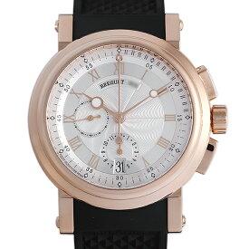 【48回払いまで無金利】ブレゲ マリーンクロノグラフ 5827BR/12/5ZU メンズ(02GLBCAU0001)【中古】【腕時計】【送料無料】