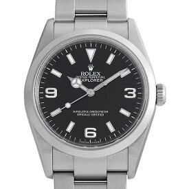 【48回払いまで無金利】ロレックス エクスプローラーI 114270 V番 メンズ(0FWNROAU0184)【中古】【腕時計】【送料無料】【キャッシュレス5%還元】