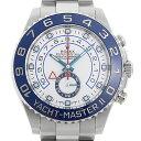 【48回払いまで無金利】ロレックス ヨットマスターII 116680 ランダムシリアル メンズ(008WROAU0456)【中古】【腕時計…