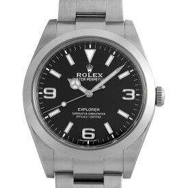 【48回払いまで無金利】ロレックス エクスプローラー 214270 最新型 メンズ(0FWNROAU0233)【中古】【腕時計】【送料無料】【キャッシュレス5%還元】