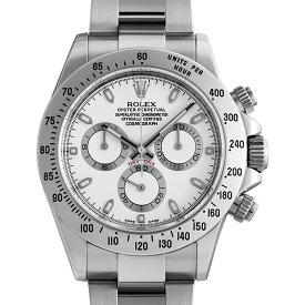 【48回払いまで無金利】ロレックス コスモグラフ デイトナ 116520 ホワイト/新クラスプ ランダムシリアル メンズ(0FWNROAU0245)【中古】【腕時計】【送料無料】
