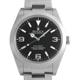 【48回払いまで無金利】ロレックス エクスプローラー 214270 ランダムシリアル メンズ(006XROAU1437)【中古】【腕時計】【送料無料】【キャッシュレス5%還元】