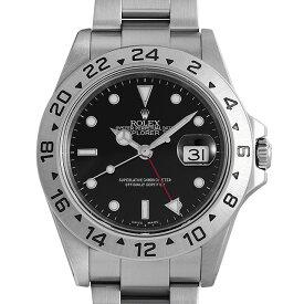 【48回払いまで無金利】ロレックス エクスプローラーII 16570 ブラック P番 メンズ(06N2ROAU0018)【中古】【腕時計】【送料無料】【キャッシュレス5%還元】