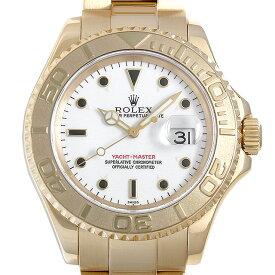 【48回払いまで無金利】ロレックス ヨットマスター 16628 ホワイト A番 メンズ(006XROAU1461)【中古】【腕時計】【送料無料】