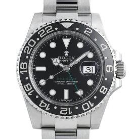 【48回払いまで無金利】ロレックス GMTマスターII 116710LN ランダムシリアル メンズ(044MROAU0064)【中古】【腕時計】【送料無料】