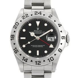 【48回払いまで無金利】ロレックス エクスプローラーII 16570 ブラック L番 中古 メンズ(0FWNROAU0363)【中古】【腕時計】【送料無料】