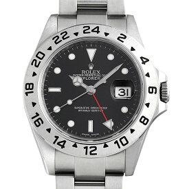 【48回払いまで無金利】ロレックス エクスプローラーII 16570 ブラック ランダムシリアル メンズ(006XROAU1539)【中古】【腕時計】【送料無料】