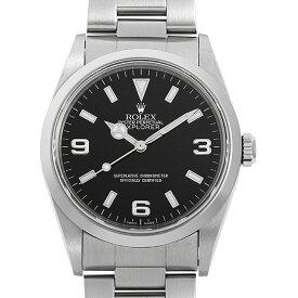 【48回払いまで無金利】ロレックス エクスプローラーI 14270 P番 メンズ(007UROAU1377)【中古】【腕時計】【送料無料】