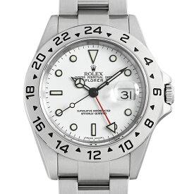 【48回払いまで無金利】ロレックス エクスプローラーII 16570 ホワイト F番 メンズ(05OSROAU0001)【中古】【腕時計】【送料無料】