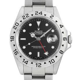 【48回払いまで無金利】ロレックス エクスプローラーII 16570 ブラック K番 メンズ(0YK0ROAU0001)【中古】【腕時計】【送料無料】